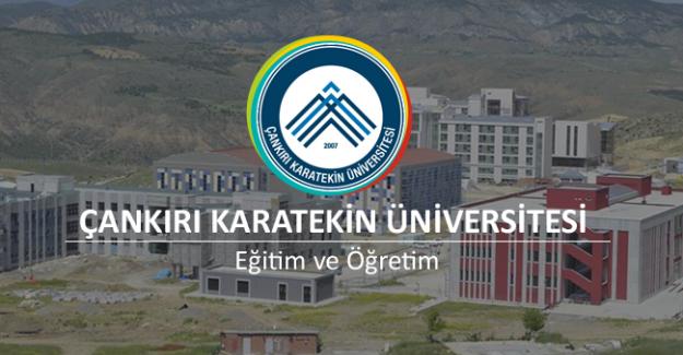 Çankırı Karatekin Üniversitesi çeşitli branşlarda 16 Öğretim Üyesi  alacak, son başvuru tarihi 18 Eylül 2019.
