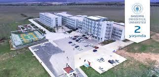 Bandırma Onyedi Eylül Üniversitesi  2019-2020 Güz dönemi Ek Yüksek Lisans Öğrenci Alımı ilanı yayımlandı