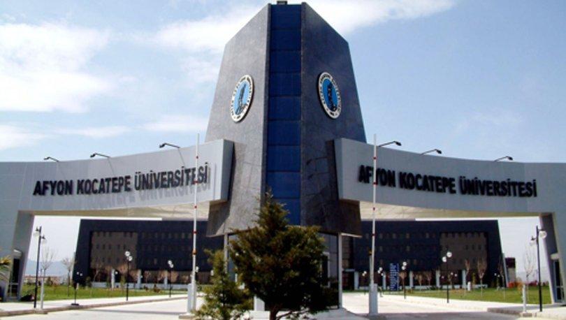 Afyon Kocatepe Üniversitesi  13 Araştırma Görevlisi ve 10 Öğretim Görevlisi alacak.