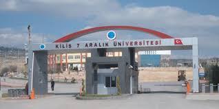Kilis 7 Aralık Üniversitesi 2019-2020 Güz dönemi Y.lisans ve Doktora ilanı yayımlandı.