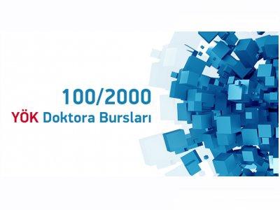 100-2000 YÖK Doktora Bursu kapsamında 75 devlet üniversitesi ilana çıktı !