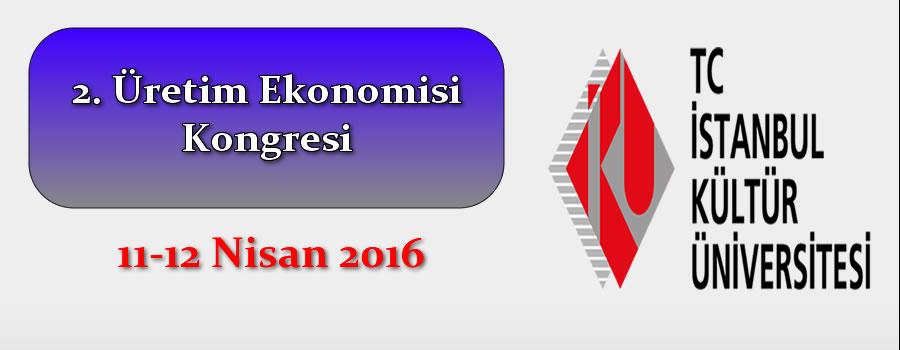2. Üretim Ekonomisi Kongresi