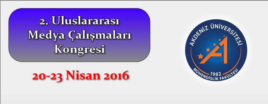 2. Uluslararası Medya Çalışmaları Kongresi