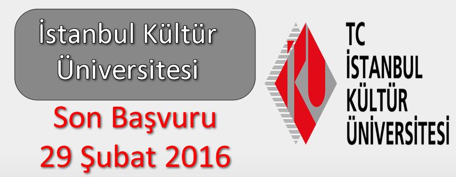 İstanbul Kültür Üniversitesi Araştırma Görevlisi Alımı