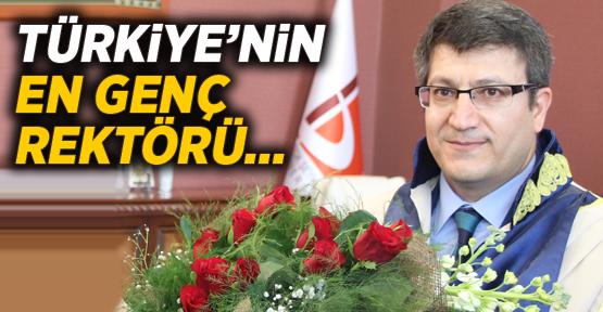 İşte Türkiye'nin En Genç Rektörü